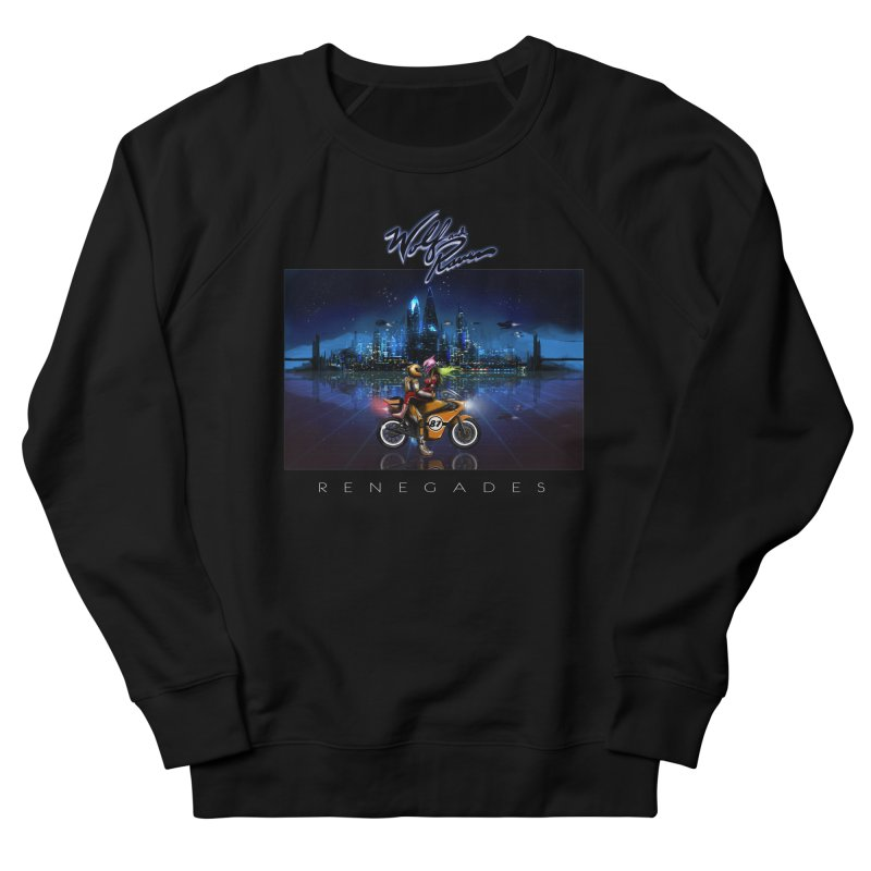 Wolf and Raven Renegades Artwork Men's French Terry Sweatshirt by Wolf and Raven Artist Shop