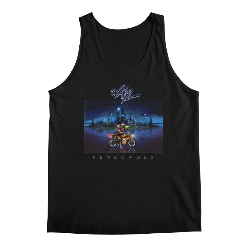 Wolf and Raven Renegades Artwork Men's Regular Tank by Wolf and Raven Artist Shop