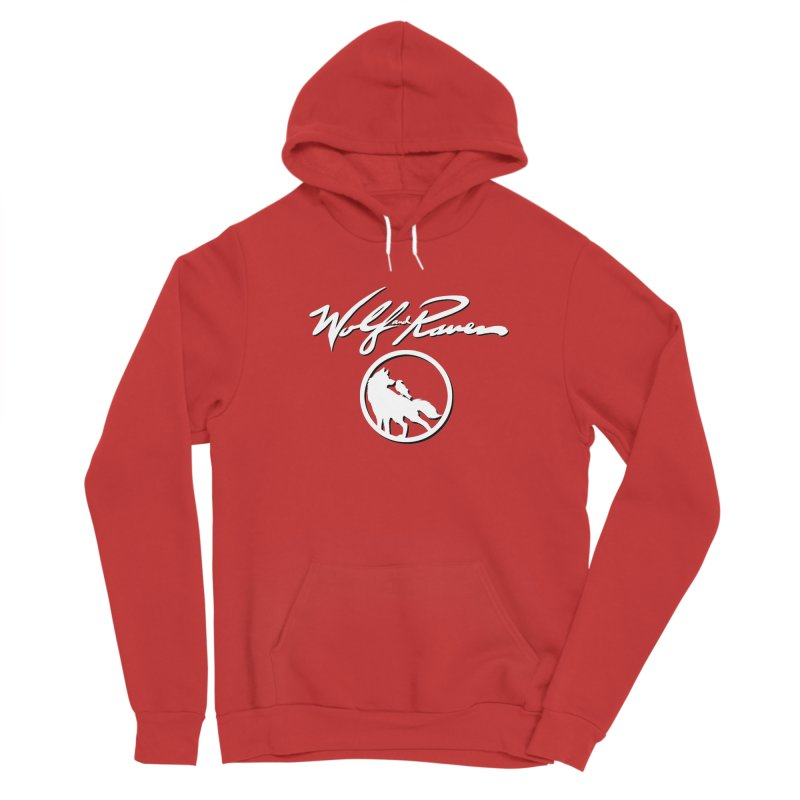 Wolf and Raven Cursive Women's Pullover Hoody by Wolf and Raven Artist Shop