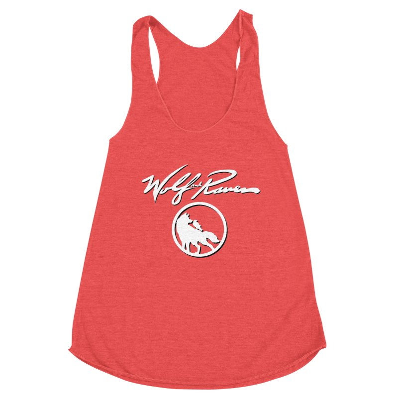 Wolf and Raven Cursive Women's Tank by Wolf and Raven Artist Shop