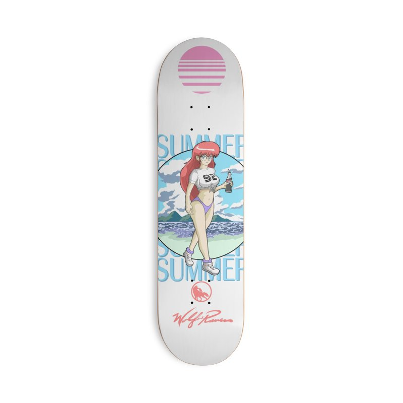 Summer of 92 Accessories Skateboard by Wolf and Raven Artist Shop