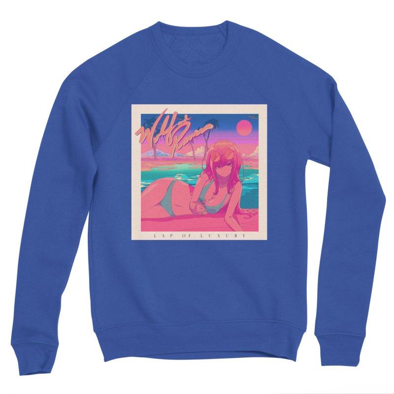 Lap of Luxury Men's Sweatshirt by Wolf and Raven Artist Shop