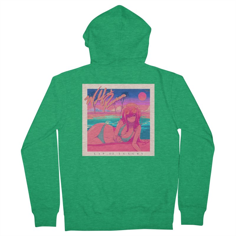 Lap of Luxury Men's Zip-Up Hoody by Wolf and Raven Artist Shop