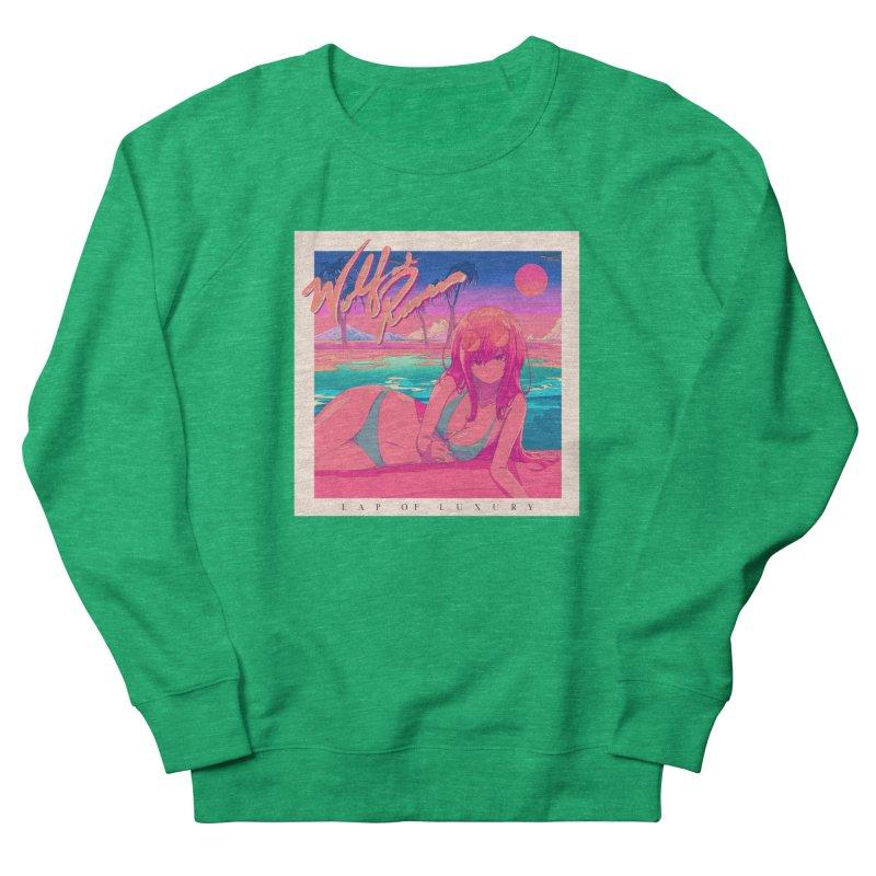 Lap of Luxury Women's Sweatshirt by Wolf and Raven Artist Shop