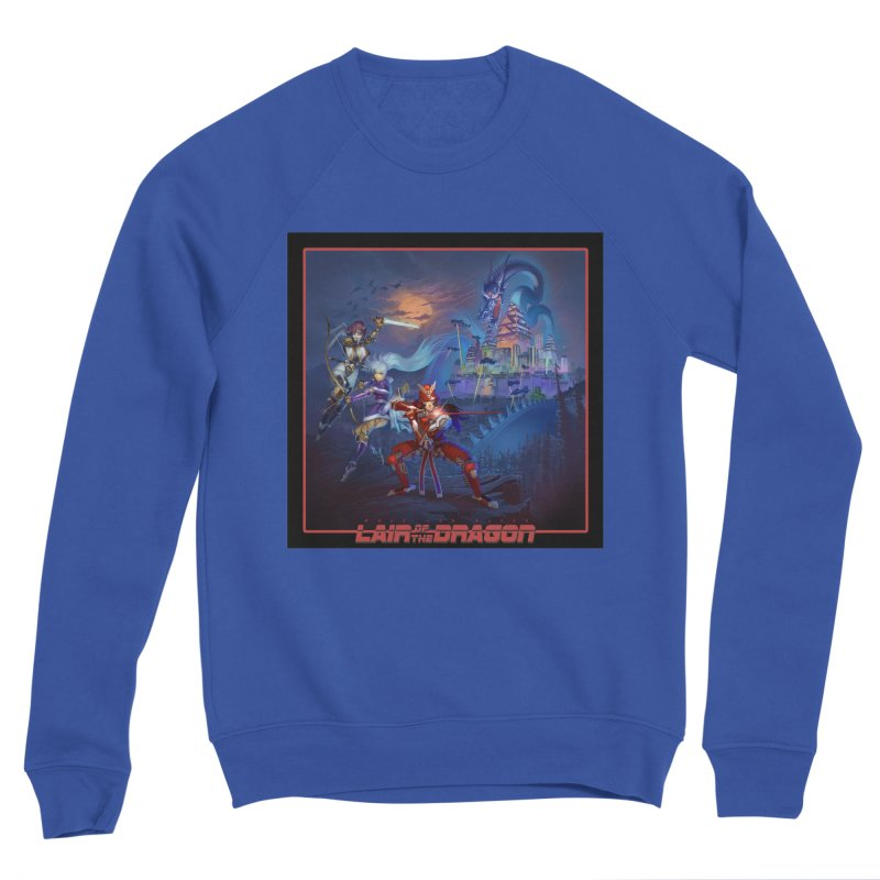 Lair of the Dragon Men's Sweatshirt by Wolf and Raven Artist Shop