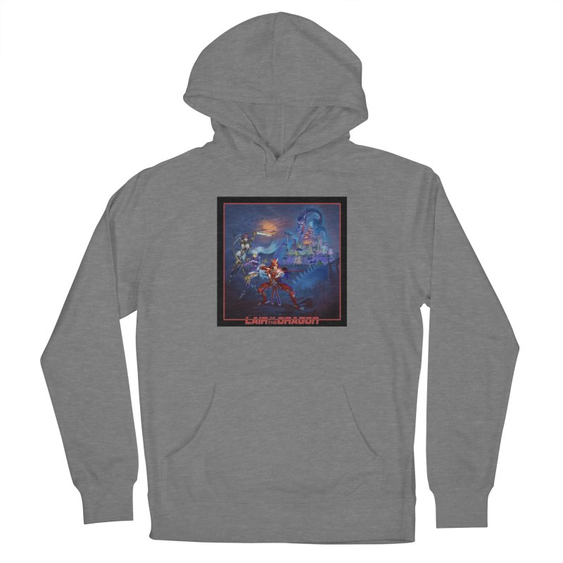Lair of the Dragon Women's Pullover Hoody by Wolf and Raven Artist Shop