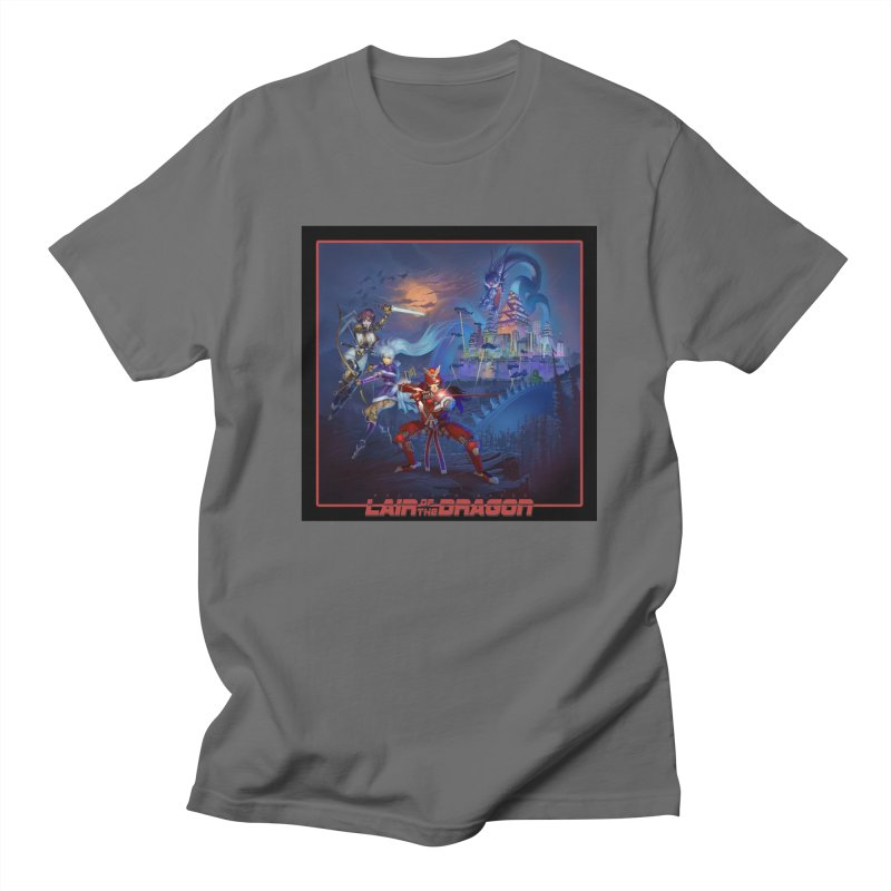 Lair of the Dragon Men's T-Shirt by Wolf and Raven Artist Shop