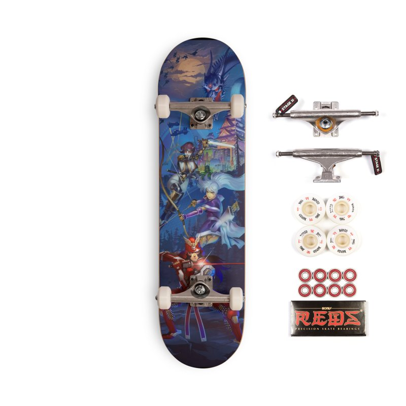 Lair of the Dragon Accessories Skateboard by Wolf and Raven Artist Shop