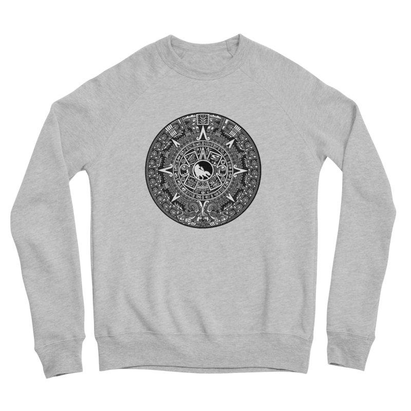 Mayan Platform Men's Sweatshirt by Wolf and Raven Artist Shop
