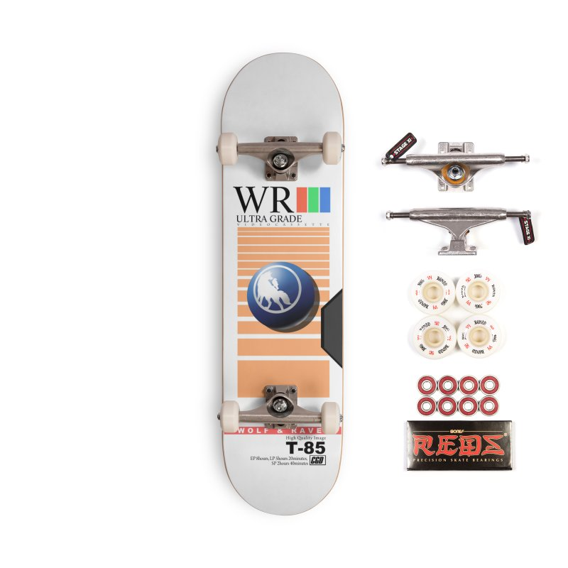 Wolf and Raven T-85 VHS Accessories Skateboard by Wolf and Raven Artist Shop