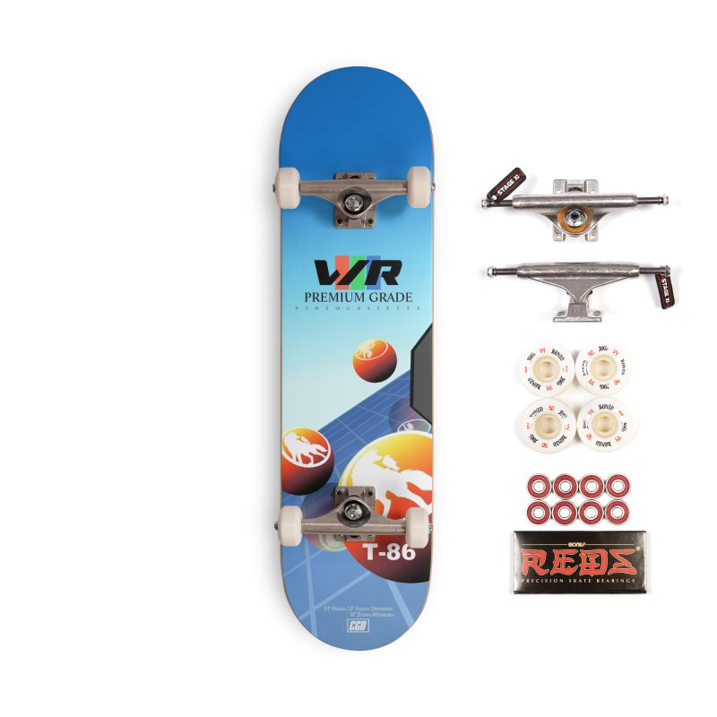 Wolf and Raven T-86 VHS Accessories Skateboard by Wolf and Raven Artist Shop