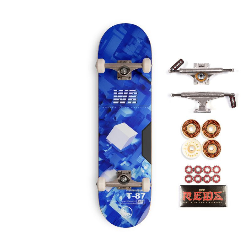 Wolf and Raven T-87 VHS Accessories Skateboard by Wolf and Raven Artist Shop