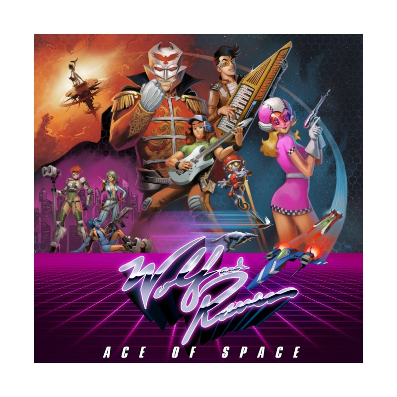 Wolf and Raven Ace of Space Album Art by Wolf and Raven Artist Shop