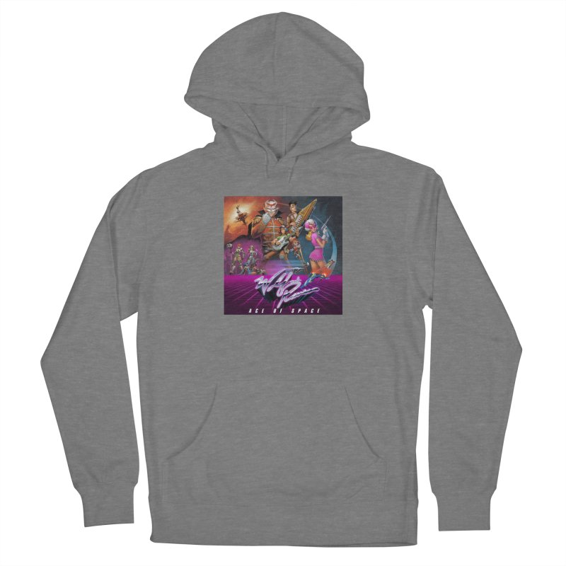 Wolf and Raven Ace of Space Album Art Women's Pullover Hoody by Wolf and Raven Artist Shop