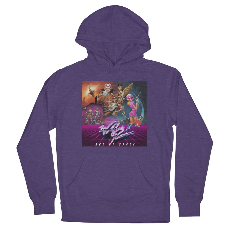 Wolf and Raven Ace of Space Album Art Women's French Terry Pullover Hoody by Wolf and Raven Artist Shop