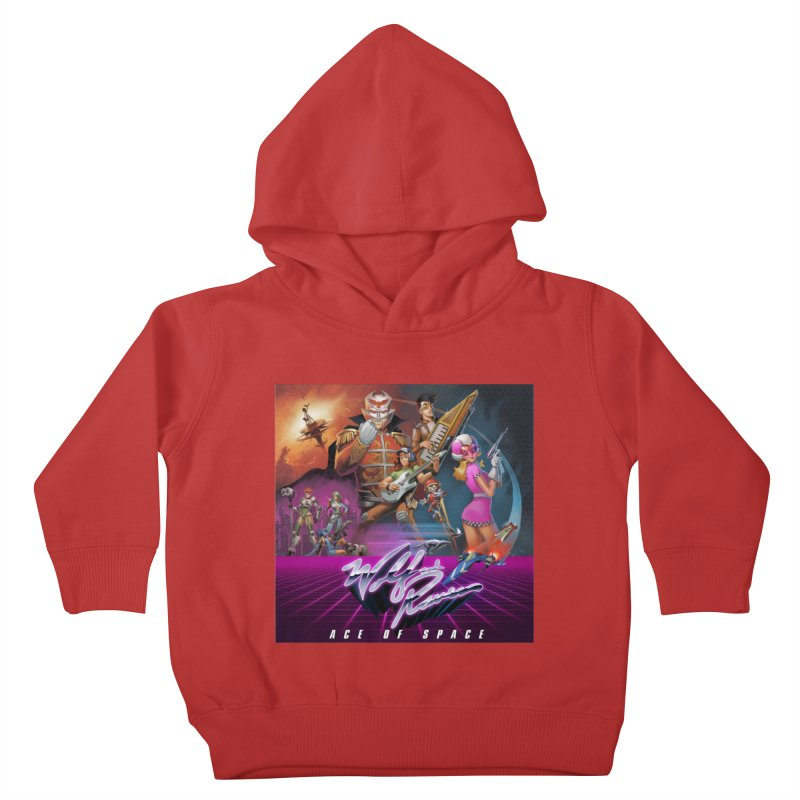 Wolf and Raven Ace of Space Album Art Kids Toddler Pullover Hoody by Wolf and Raven Artist Shop