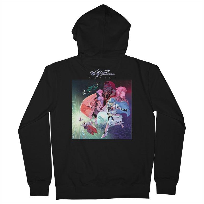 Gemini Album art Women's Zip-Up Hoody by Wolf and Raven Artist Shop