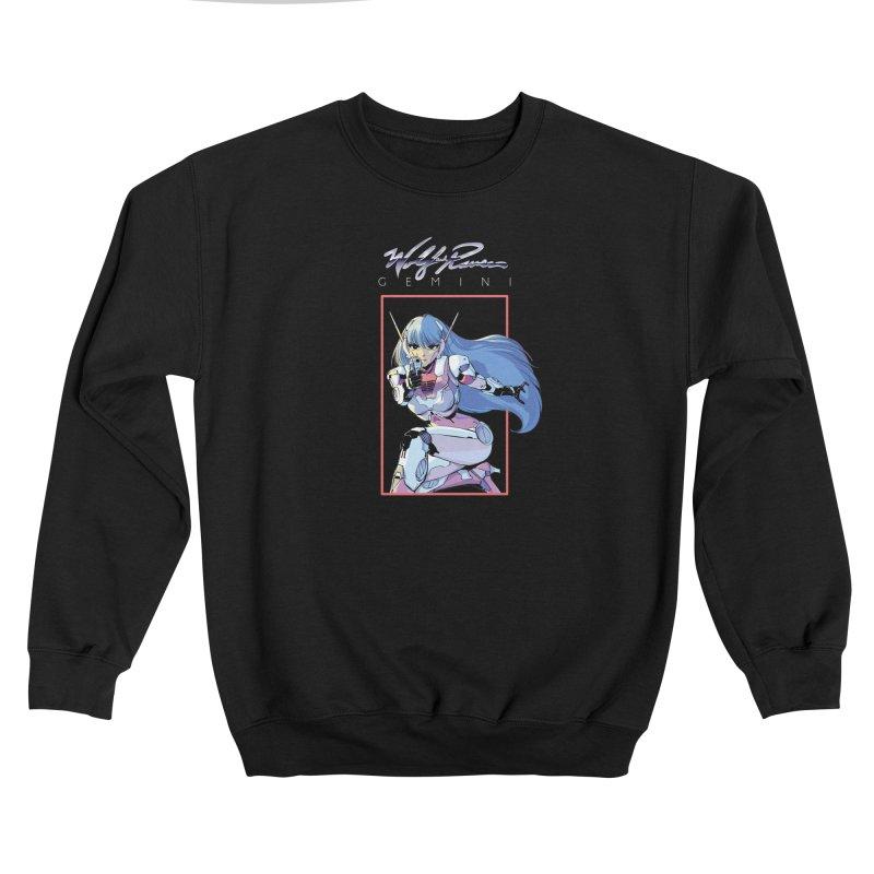 Gemini Men's Sweatshirt by Wolf and Raven Artist Shop