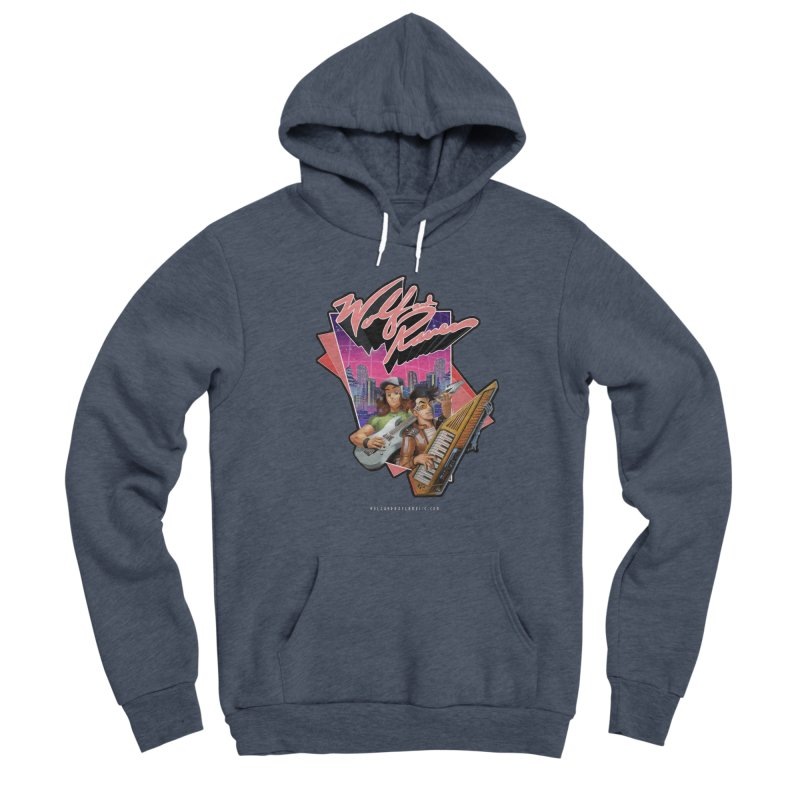 Wolf and Raven 80s Cartoon Men's Sponge Fleece Pullover Hoody by Wolf and Raven Artist Shop