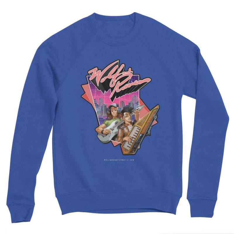 Wolf and Raven 80s Cartoon Men's Sponge Fleece Sweatshirt by Wolf and Raven Artist Shop