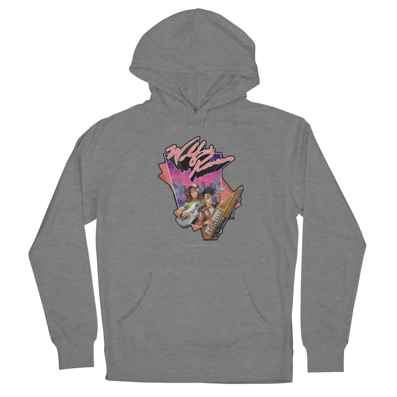 Wolf and Raven 80s Cartoon Women's Pullover Hoody by Wolf and Raven Artist Shop