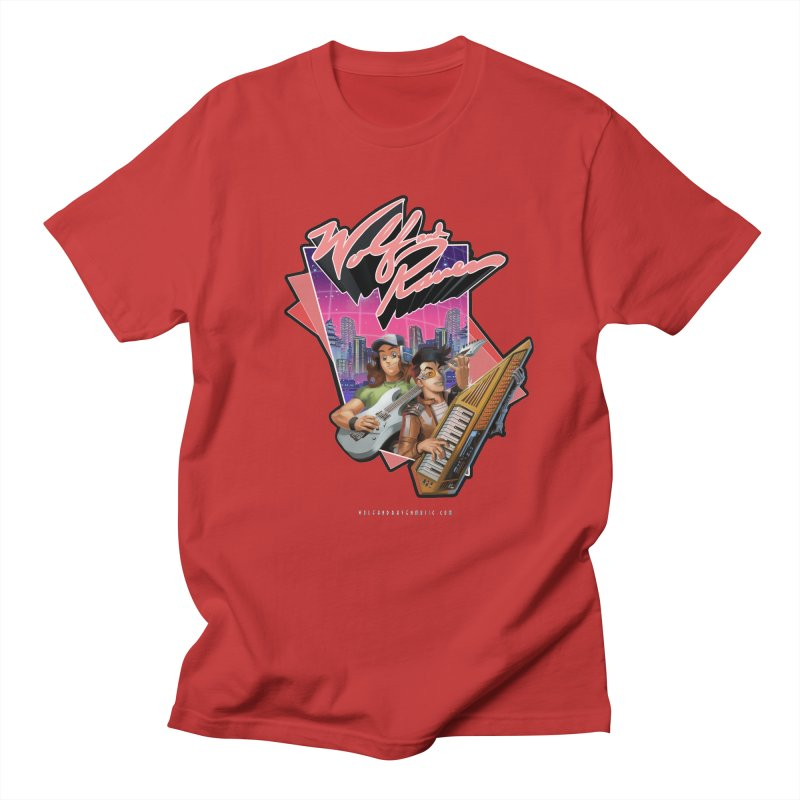 Wolf and Raven 80s Cartoon Women's Regular Unisex T-Shirt by Wolf and Raven Artist Shop