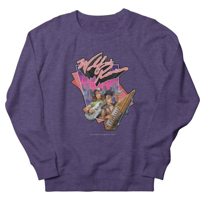 Wolf and Raven 80s Cartoon Women's French Terry Sweatshirt by Wolf and Raven Artist Shop