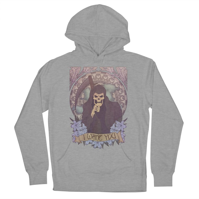 Death Nouveau Women's French Terry Pullover Hoody by Wolf Bite Shop