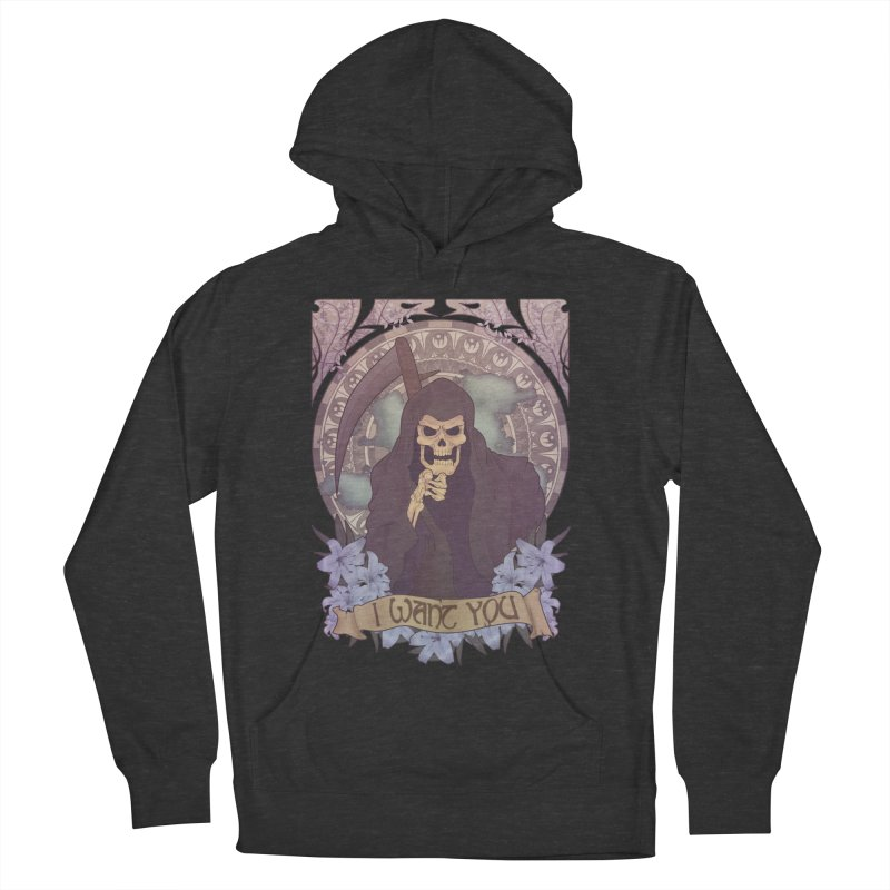 Death Nouveau Men's Pullover Hoody by Wolf Bite Shop