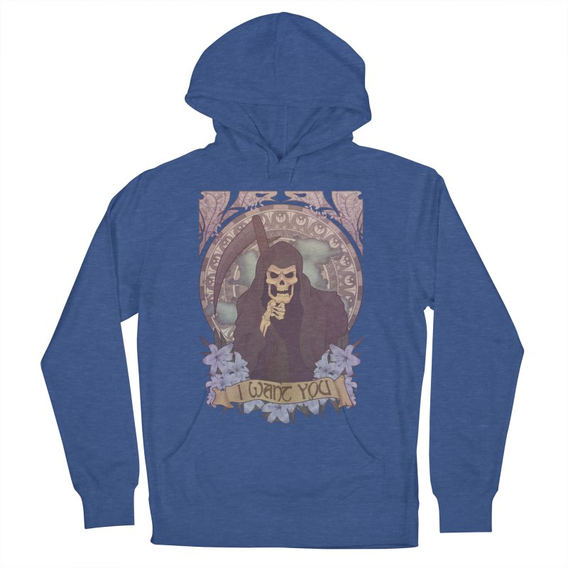 Death Nouveau Men's French Terry Pullover Hoody by Wolf Bite Shop