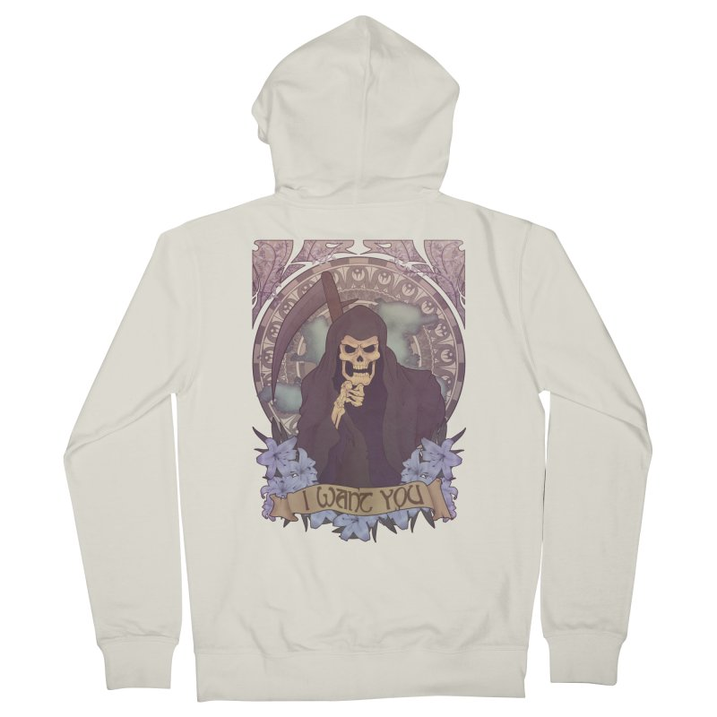 Death Nouveau Women's Zip-Up Hoody by Wolf Bite Shop