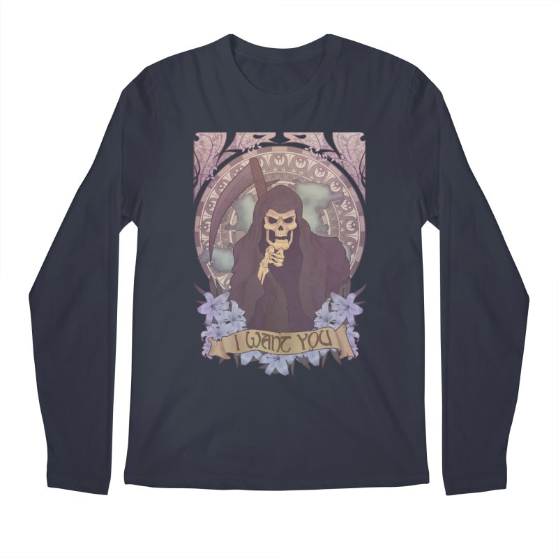 Death Nouveau Men's Regular Longsleeve T-Shirt by Wolf Bite Shop