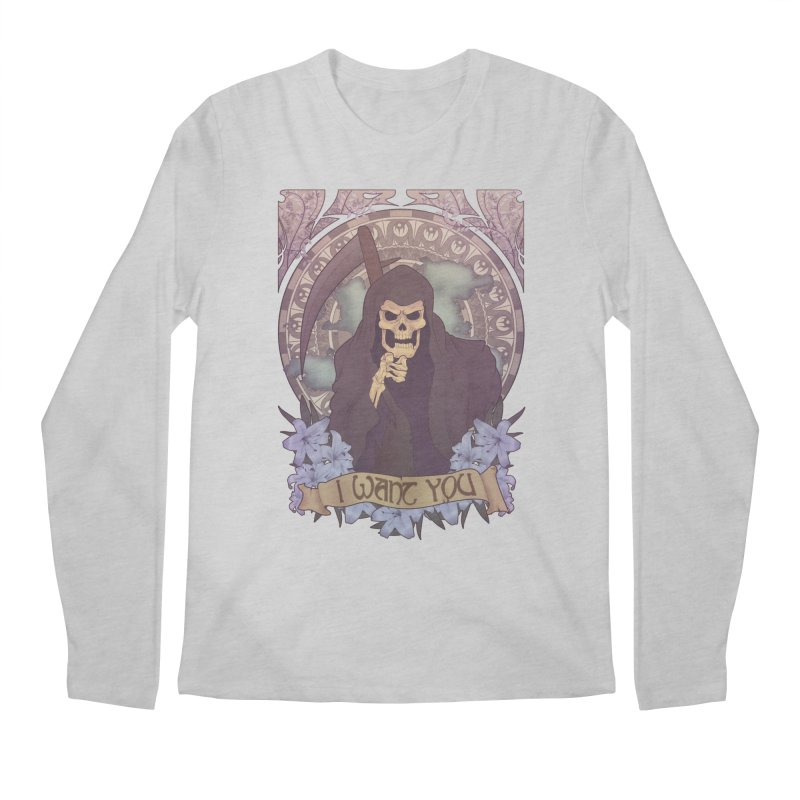 Death Nouveau Men's Regular Longsleeve T-Shirt by Wolf Bite Shop