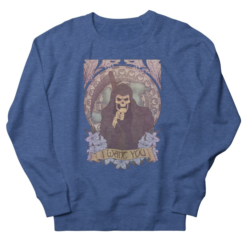 Death Nouveau Women's Sweatshirt by Wolf Bite Shop