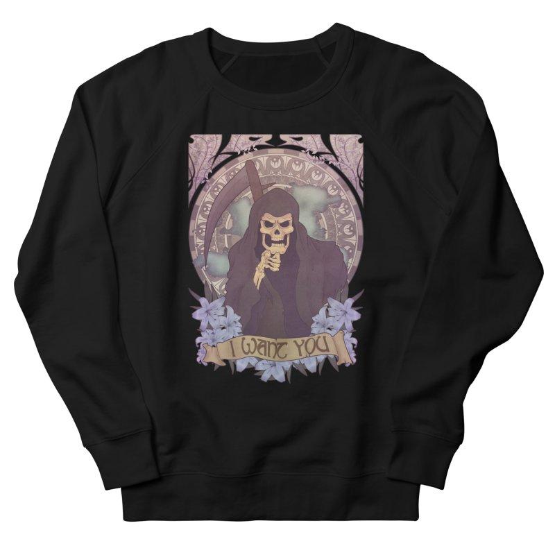 Death Nouveau Women's Sweatshirt by Wolf Bite Shop