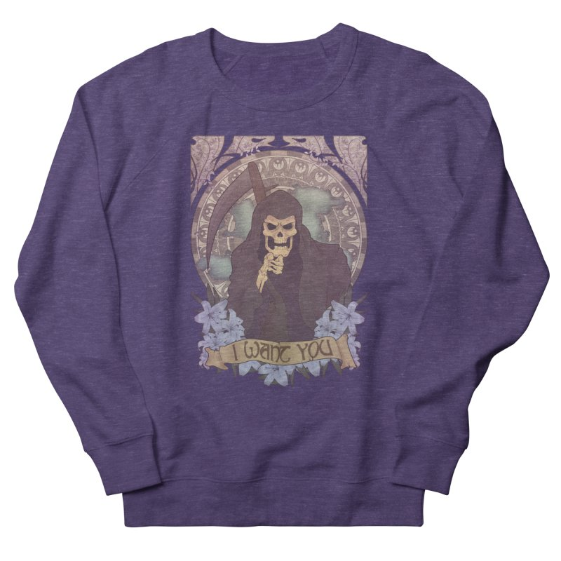 Death Nouveau Men's Sweatshirt by Wolf Bite Shop