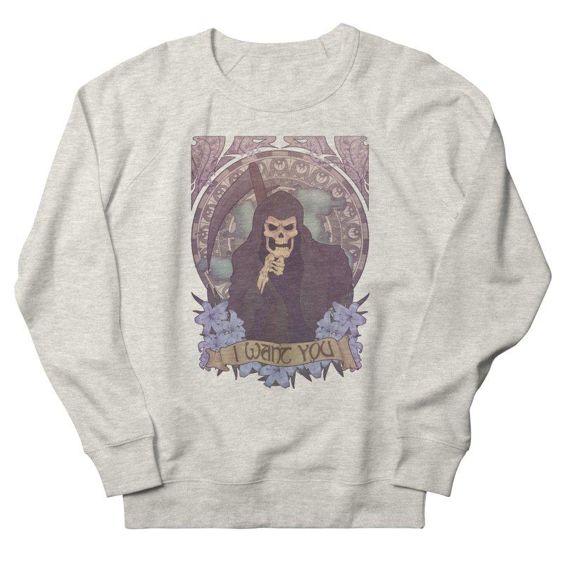 Death Nouveau Men's Sweatshirt by Wolf Bite Shop