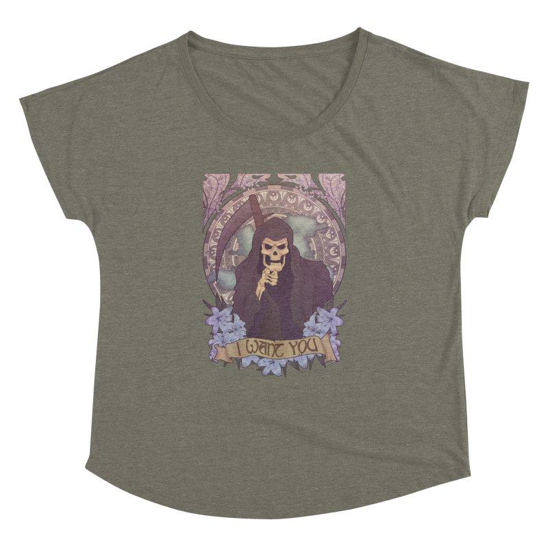 Death Nouveau Women's Dolman by Wolf Bite Shop