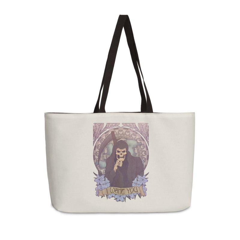 Death Nouveau Accessories Weekender Bag Bag by Wolf Bite Shop
