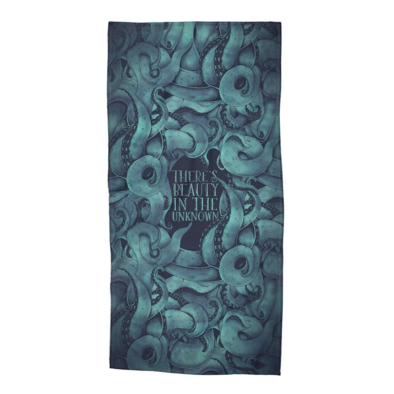 There's Beauty In The Unknown Accessories Beach Towel by Wolf Bite Shop