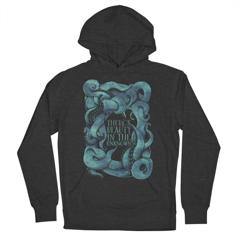 There's Beauty In The Unknown Men's Pullover Hoody by Wolf Bite Shop