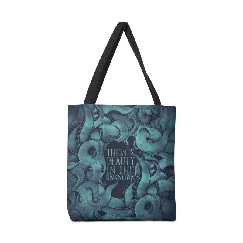 There's Beauty In The Unknown Accessories Tote Bag Bag by Wolf Bite Shop