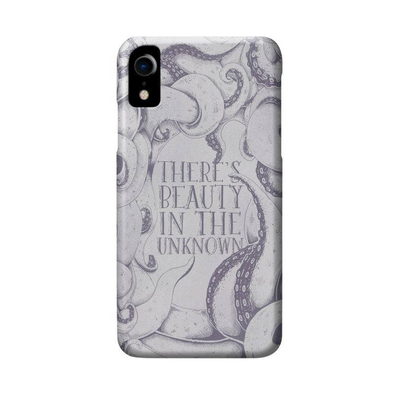 There's Beauty In The Unknown Accessories Phone Case by Wolf Bite Shop
