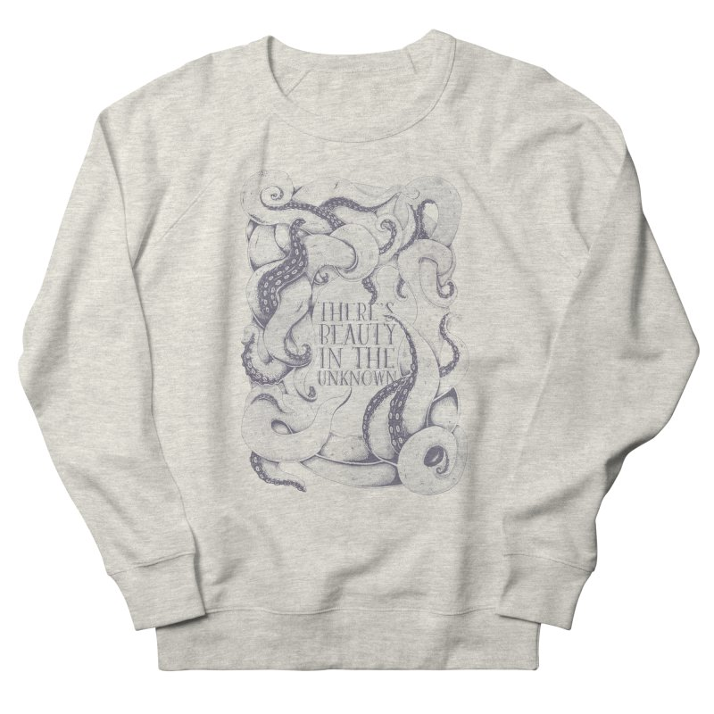 There's Beauty In The Unknown Women's Sweatshirt by Wolf Bite Shop