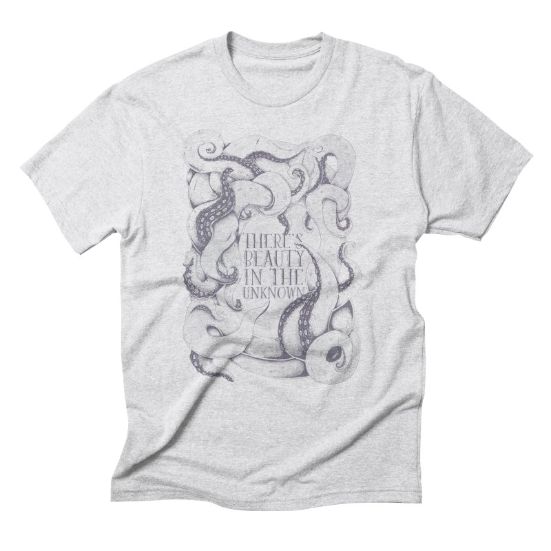 There's Beauty In The Unknown Men's Triblend T-Shirt by Wolf Bite Shop