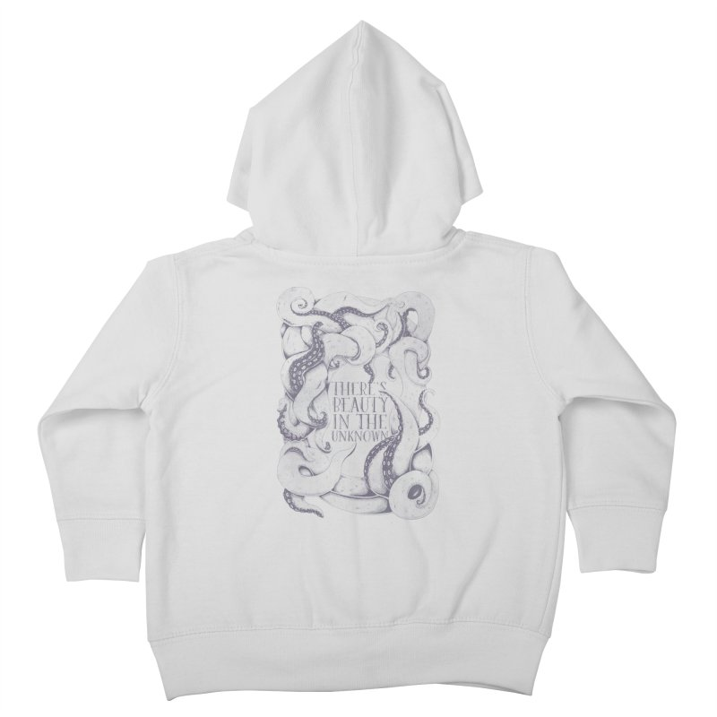 There's Beauty In The Unknown Kids Toddler Zip-Up Hoody by Wolf Bite Shop