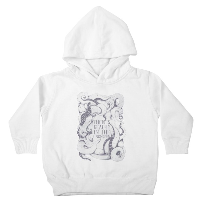 There's Beauty In The Unknown Kids Toddler Pullover Hoody by Wolf Bite Shop