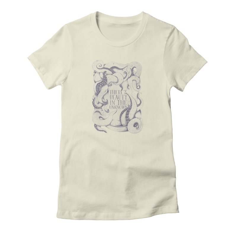 There's Beauty In The Unknown Women's T-Shirt by Wolf Bite Shop