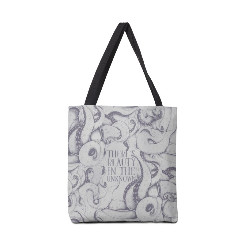 There's Beauty In The Unknown Accessories Bag by Wolf Bite Shop
