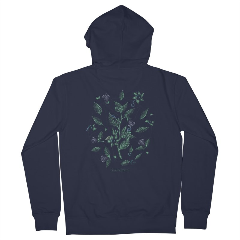 The Devil Is In The Details Women's French Terry Zip-Up Hoody by Wolf Bite Shop